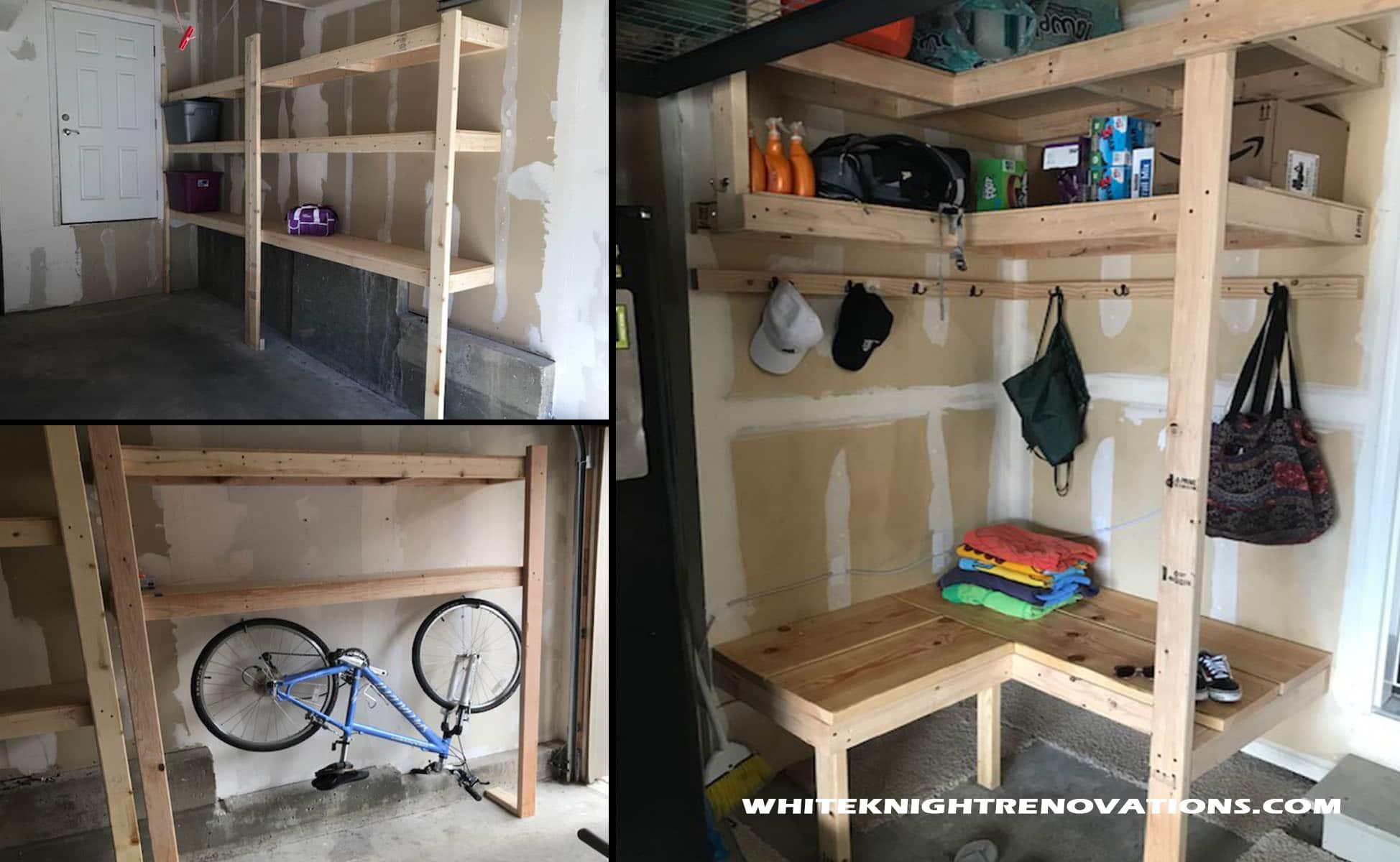 Garage Storage Solutions New 2x4 System White Knight